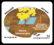 Logo Design Terrasse Bois - Sponsor Les Loges Virelart'daise