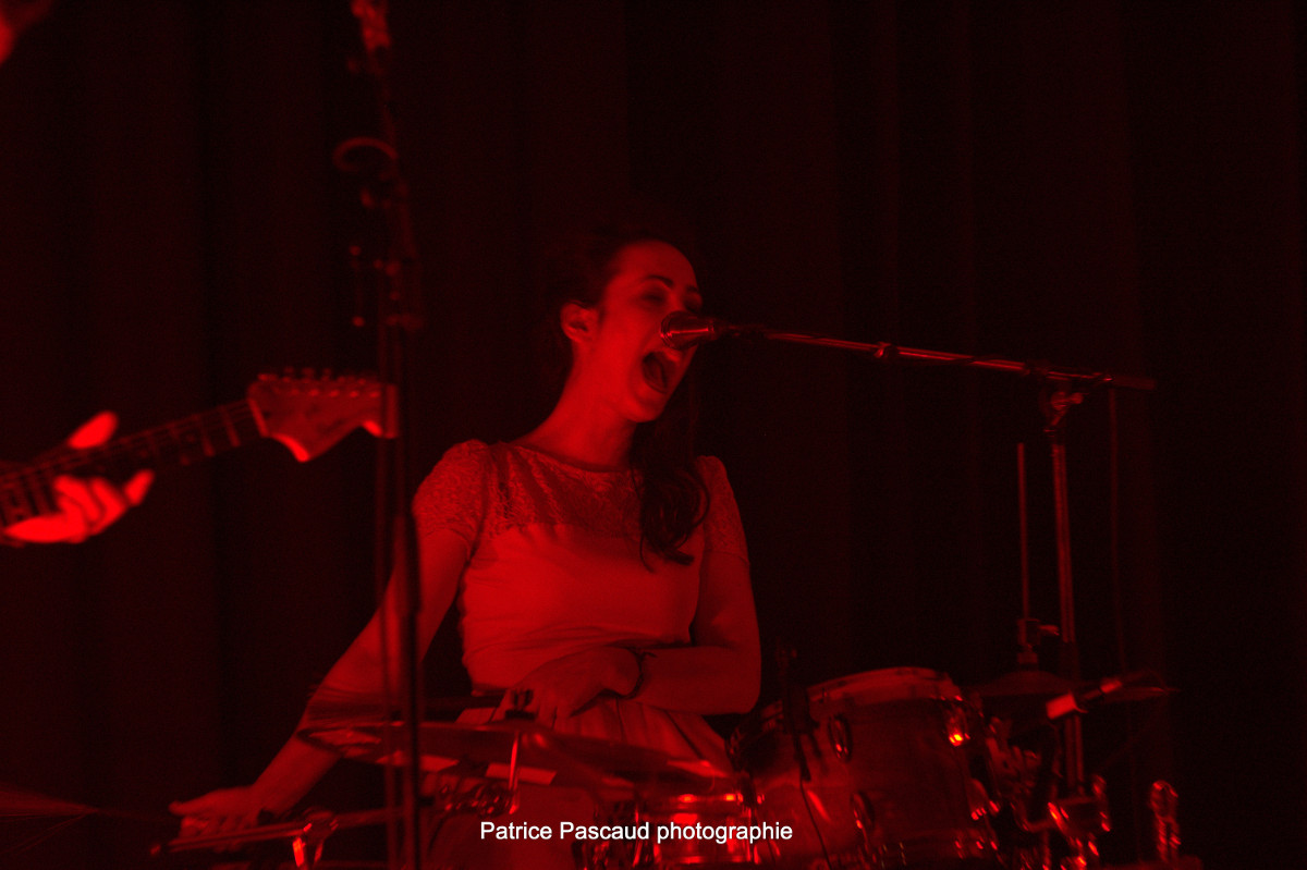 Photo Batteur Concert Groupe Crazy Dolls and the Bollocks - Les Loges Virelartdaise - Virelade
