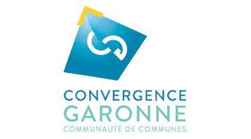 Logo Communauté de communes Convergence Garonne